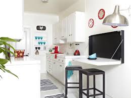 Splendid White U Shaped Modern Kitchen Design Combined With Original Small  Eat