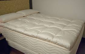 thick mattress pad. 3\u2033 Wooly Topper By OMI Thick Mattress Pad