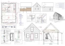 Best TINY House Blueprints StudioLoft Images On Pinterest - Tiny home design plans