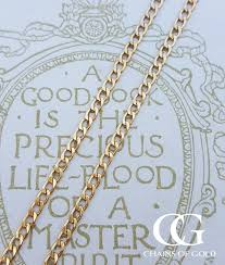 24 inch gold chain necklace