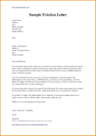 Letter Of Eviction Template template Tenant Letter Template 1