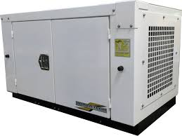 generator. Enclosed 12 KW Quiet Gas Generator - PTGK12Si D