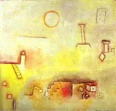 famous painting reconstructing of paul klee