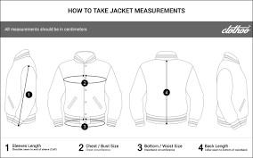 Varsity Jacket Size Chart Varsity Jacket Size Chart Design Your Varsity Jacket