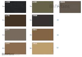 sample chart upholstery colors leather