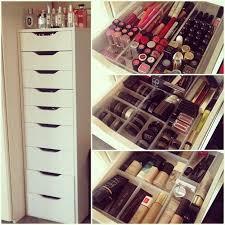 7 IKEA-Inspired DIY Makeup Storage Ideas