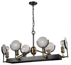 artcraft lighting ac10602 baker street 6 light chandelier
