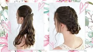 Boho Svatební účes Tutoriál Na Dva účesy Pro Dlouhé Vlasy Krása A