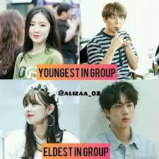 gidle jungkook jin Couple btsidle bts 2019 maknaecouple And Eldest Youngedt Bangtanidle eldest In miyeon shukook shuhua mijin