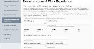 Extra Curricular Activities For Resume Examples Resume Activities