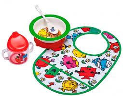 Купить <b>petit Jour</b> Набор детской <b>посуды</b> Monsieur Madame с ...
