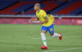"""FilGoal (From 🏠) على تويتر: """"منتخب البرازيل الأولمبي يفوز على ألمانيا  برباعية لهدفين في أولمبياد طوكيو 🇧🇷🇩🇪 ⏱7: البرازيل 1-0 ألمانيا ⏱22:  البرازيل 2-0 ألمانيا ⏱30: البرازيل 3-0 ألمانيا ⏱57: البرازيل 3-1 ألمانيا  ⏱83: البرازيل 3-2 ألمانيا ⏱90+ ..."""