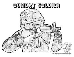 Lego Army Coloring Page Free Download