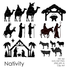 nativity silhouette patterns download.  Nativity Zoom And Nativity Silhouette Patterns Download V