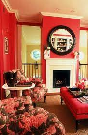 You could use different shades of that color and play with it! 17 Red Living Room Decor Ideas Sebring Design Buid