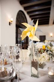 DIY Summer Centerpieces For Wedding With Paper Pinwheel (Image 4 of 20)