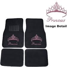girly car floor mats. Pink Princess W/ Cute Crown Gem Crystal Studded Rhinestone Car Truck SUV  Front \u0026 Rear Seat Carpet Floor Mats Girly Car Floor Mats R