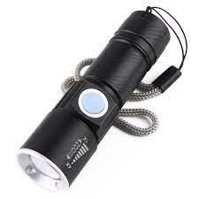Đèn pin mini siêu sáng Zoom 4X - Chiếu xa 200m - Tháo rời tiện dụng - Đèn  pin Thương hiệu OEM