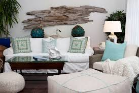 coastal inspired furniture. Coastal Sea Foam With White Sofa And Transparent Glass Coffee Table Also Wood Decoration On The Wall Inspired Furniture I
