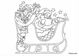 Small Picture Pages On Sleigh Coloring Pages For Kids Printable Free Rudolph And