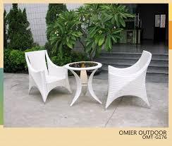 White Wicker Patio Furniture Furnihomebiz White Wicker Outdoor