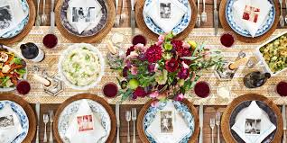 images of thanksgiving table settings