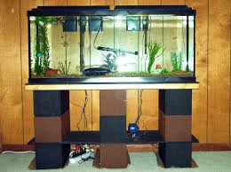 tank furniture. Modern Natural Wooden Fish Tank Table That Can Add The Nuance Inside Living Furniture