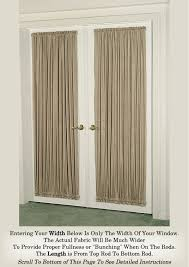 Stylish Curtains For Doors and Curtains For Doors Door Curtains Soho  Privacy Fabric