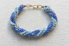 Spiral Beads Design How To Make A Double Spiral Beaded Rope