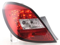 Hematron At73017 Led Tail Lights Rear Lamp Suitable For Opel Corsa