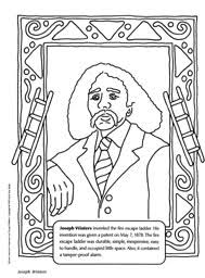 Small Picture Joseph Winters coloring sheet inventor of the fire escape ladder