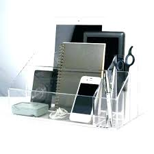 clear office desk. Acrylic Writing Desk Office Desks With Storage Clear Desktop Electronic Organizer Holder T