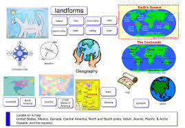 Geography - Landforms, Continents, Oceans, & Mapping Skills ...