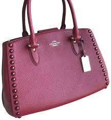 ... coach fashion luxury limited edition satchel in berry