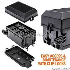 ols 12 slot relay box [6 relays] [6 blade fuses] [bosch style relays diy fuse and relay box ols 12 slot relay box [6 relays] [6 blade fuses] [