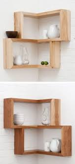 Unfinished Corner Shelves A Combination Of The Geometric Shelf And The Corner Shelf The 68
