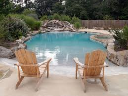 Image Pool Renovation Vistapro Landscape Design Saltwater Beach Entry Lap Pool Installation In Annapolis