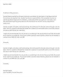Reference Letter For Job Sample Of Recommendation Letter Enchanting