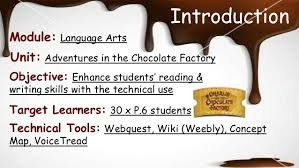 charlie and the chocolate factory lesson plan introduction