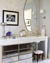 antique mirrored vanity