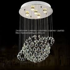 made in china ball crystal chandelier led pendant lamp used home 6005 5