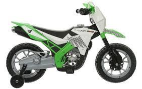 6v motorbike green