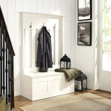 shoe storage with coat rack metal entryway bench wood seat hooks intended  for
