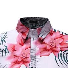 <b>Men</b> Shirt <b>Summer Business</b> Leisure Short-Sleeved Printing Blouse ...