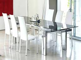 modern glass dining table.  Table Modern Table Set Glass Dining Attractive Room Tables With  Worthy Throughout 0   Throughout Modern Glass Dining Table S
