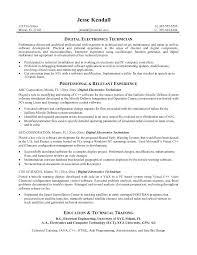 Engineering Technician Resume Stunning Biomedical Equipment Technician Resume Top Engineering Technicians
