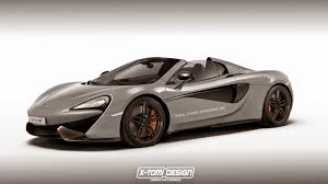McLaren 570S Spider Won't Arrive until 2017, Here's a Rendering to ...