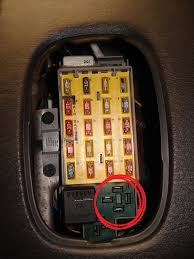 heated seat relay wiring i ll even pay a bounty on this one heres the front of the relay where it came from what the large picture of the back is