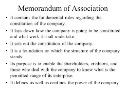 Sample Company Memorandum Tips For The Preparation Drafting Of A Companys Memorandum