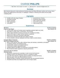 Live Career Resume Builder New Aircraft Mechanic Resume Samples